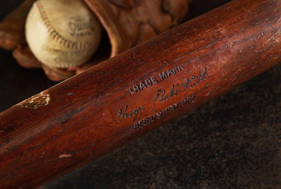 Heritage Auctions Posts Early Yankees Ruth Bat