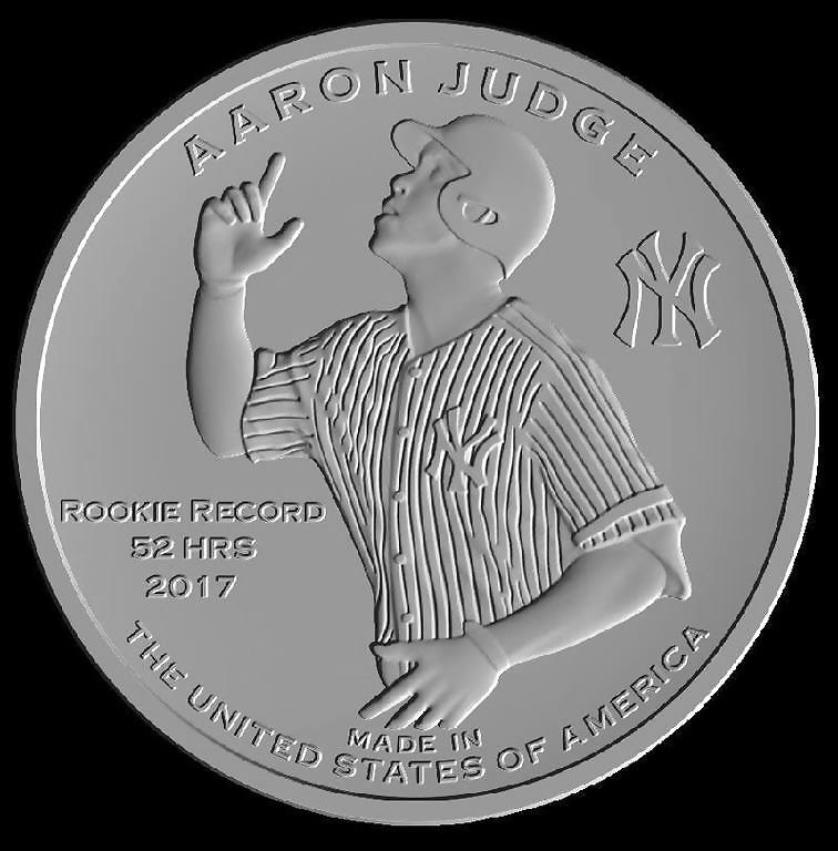 Young OFs Represent N.Y. In Collectible Coin Set