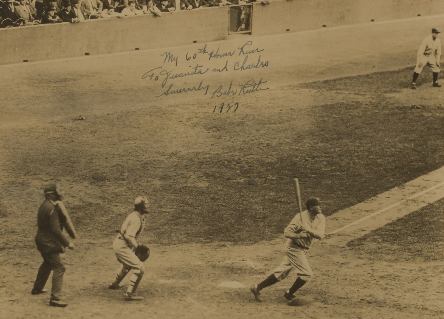 Ruth Collection To Be Offered At Yankee Stadium Auction June 15