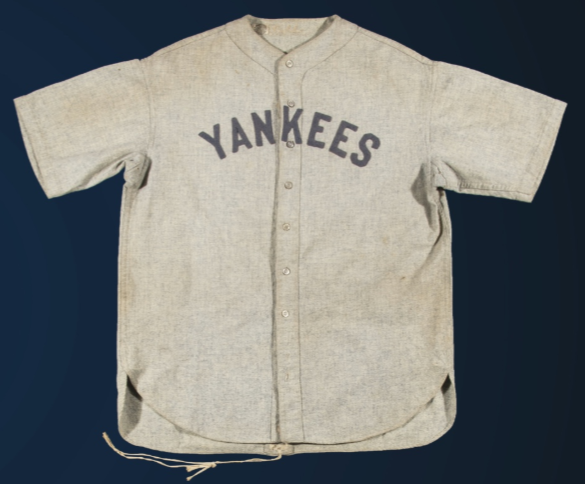 Ruth Author Thinks '28-'30 Yankees Jersey Can Set Auction Record