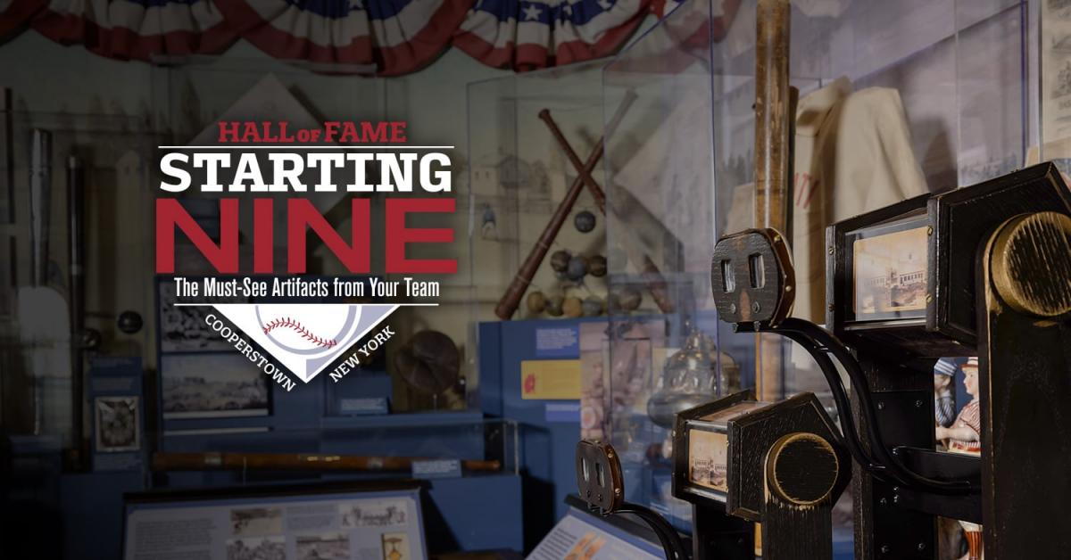 Hall of Fame Debuts Starting Nine Experience Online, at Museum in Cooperstown