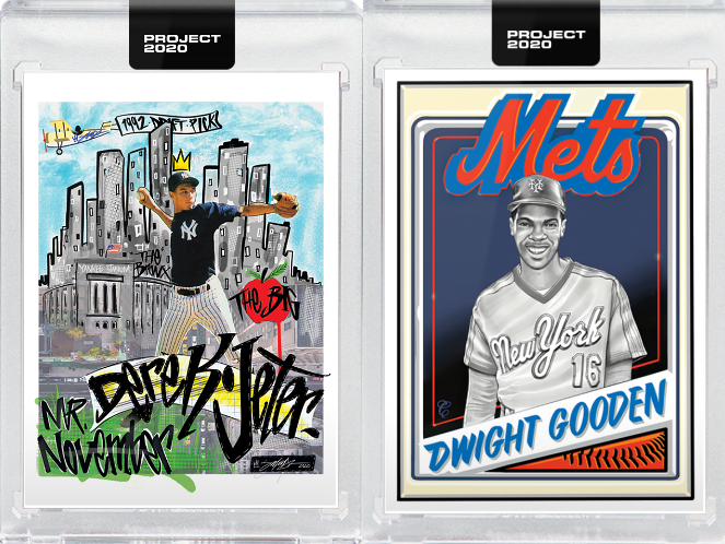 Jeter, Mays, Gooden Cards Among Leading Topps 'Project 2020' Sellers To Date