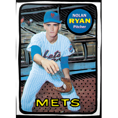 Ryan, Jeter, Gooden Among Leading Topps 'Project 2020' Cards