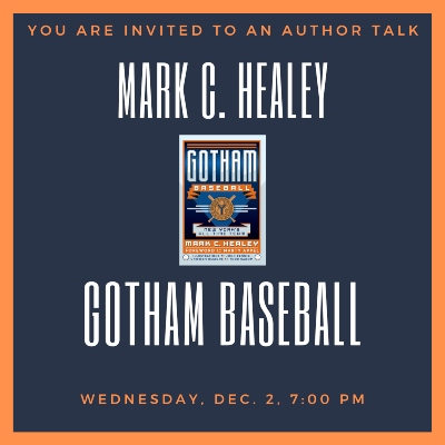 Author Talk: Mark C. Healey