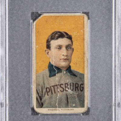Honus Wagner Card Sets Record $1,426,800