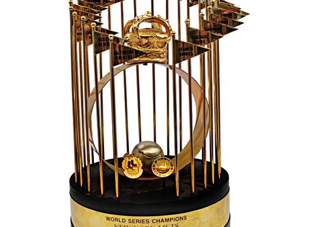 Stottlemyre '86 Mets Trophy Among Steiner Personal Collection Up For Auction