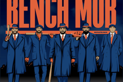 Mets Bench Mob