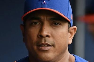 Manager Luis Rojas