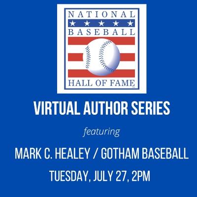 "Talking ""Gotham Baseball"" With The Baseball HOF"