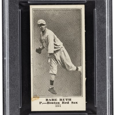 Heritage Auctions has Babe Ruth rookie card, Willie McCovey Collection on auction block